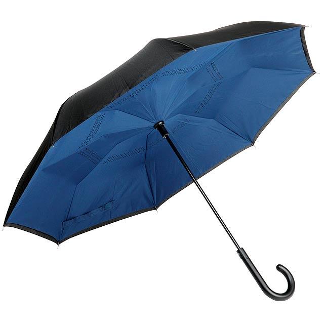 Automatický deštník OPPOSITE - modrá