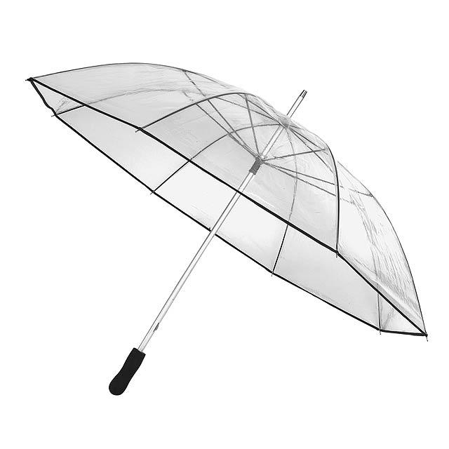 Veký transparentní deštník  OBSERVER - transparentní