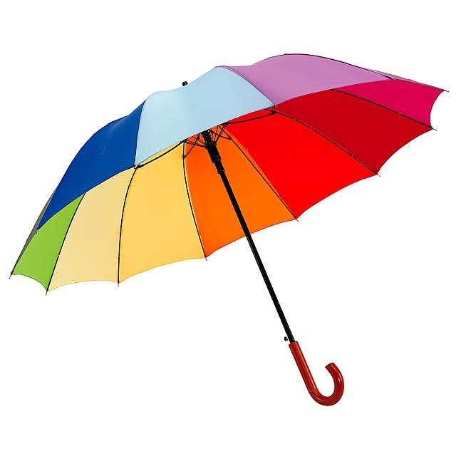 Automatický golfový deštník   RAINBOW LIGHT - multicolor