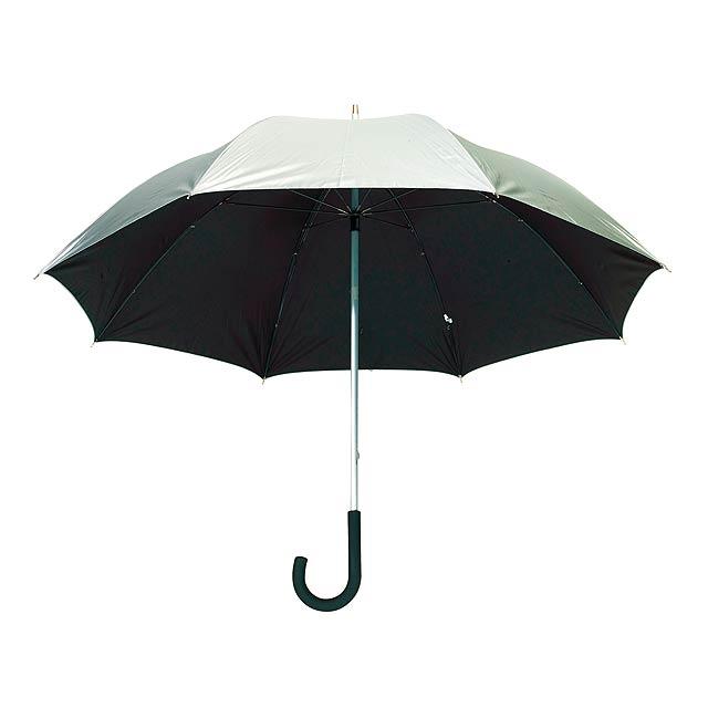Automatický golfový deštník   SOLARIS - stříbrná