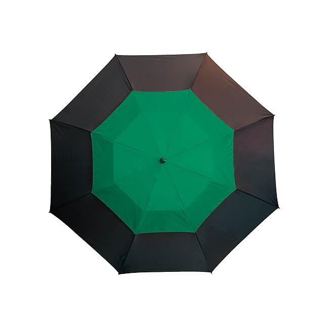 Golfový deštník   MONSUN - zelená