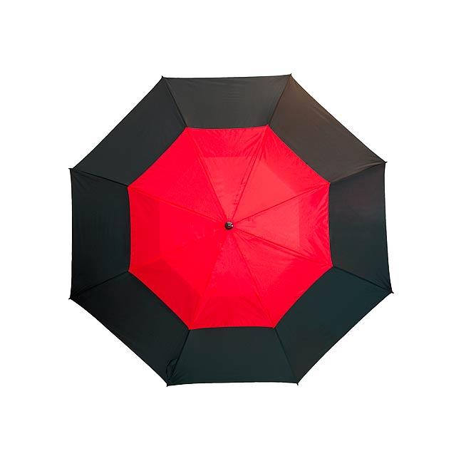 Golfový deštník   MONSUN - červená