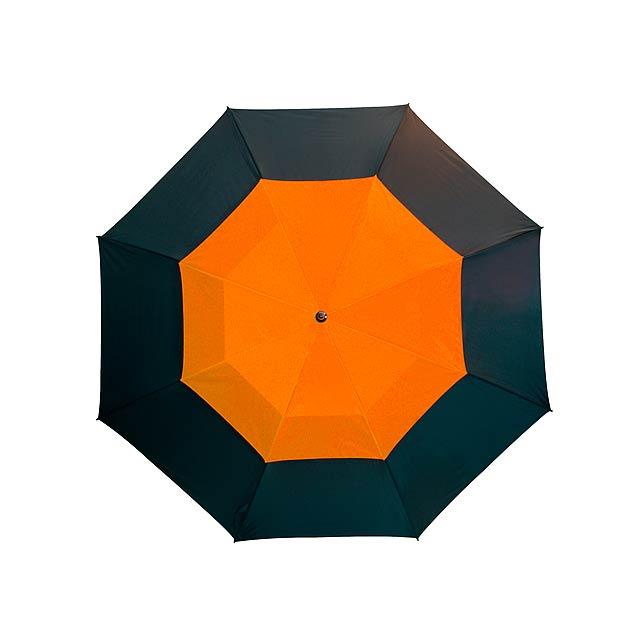 Golfový deštník   MONSUN - oranžová