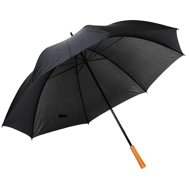 Golfový deštník RAINDROPS - černá