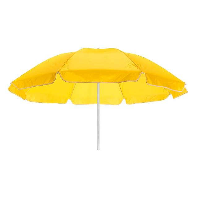 Plážový deštník a slunečník SUNFLOWER - žlutá