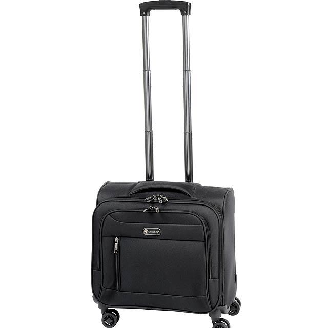 Kolečkový kufr DIPLOMAT z naší kolekce CHECK.IN - černá