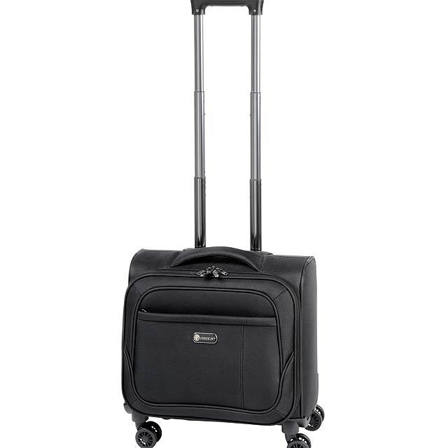 Cestovní taška na kolečkách DIPLOMAT S - černá