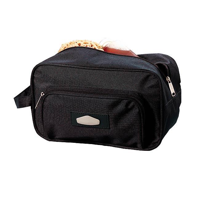 Toaletní taška LASER PLUS - černá
