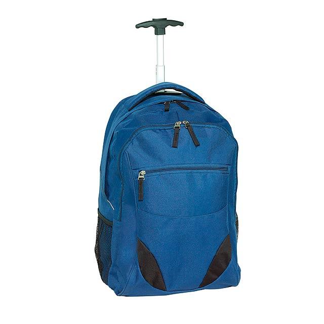 Batoh na kolečkách  TRAILER - modrá