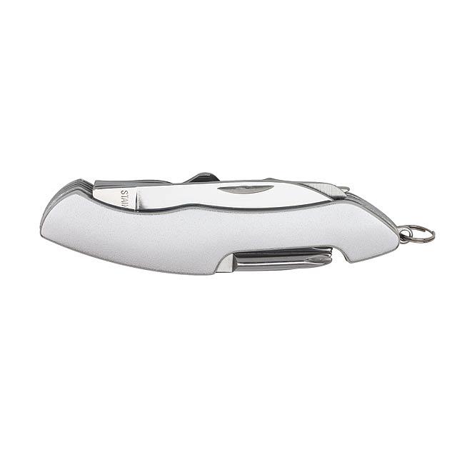 11 kusů multifunkční nástroj ALL TOGETHER - stříbrná