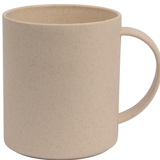 Hrnek na kávu STRONGLY - béžová