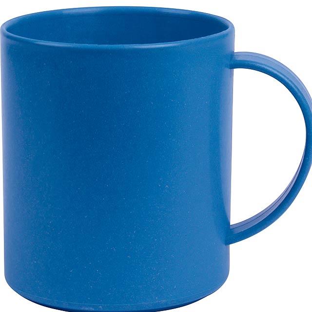 Hrnek na kávu STRONGLY - modrá