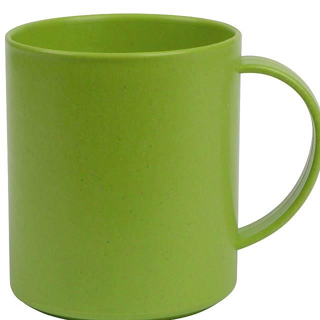 Hrnek na kávu STRONGLY - zelená