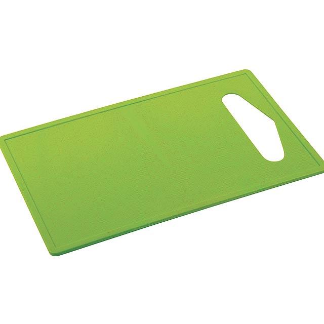 Krájecí prkénko CHOPY - zelená