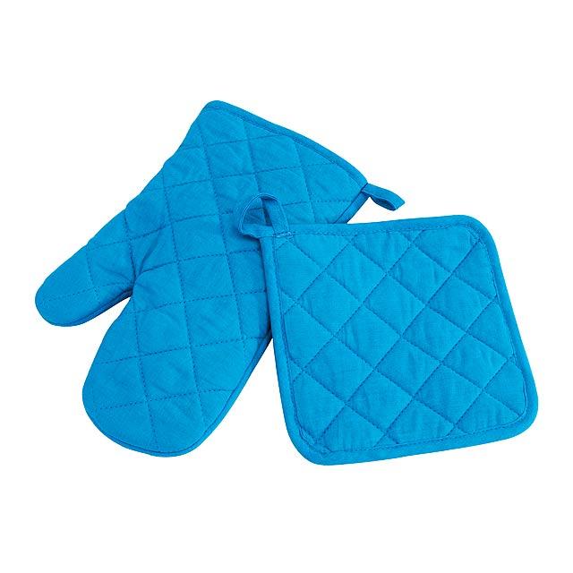 Rukavice SECURE - modrá