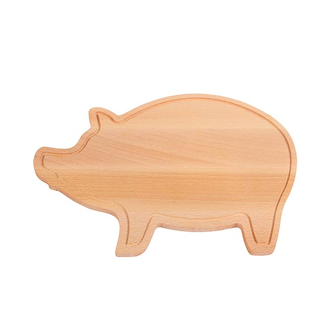 Prkénko WOODEN PIGGY - dřevo