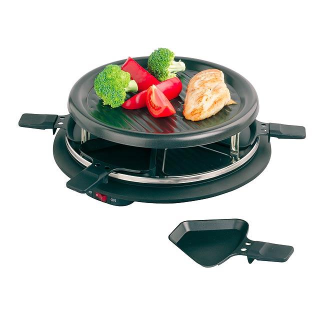 Raclette grill FAMILY - černá
