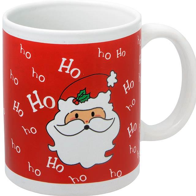 Vánoční hrnek XMAS CUP - červená
