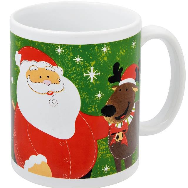 Vánoční hrnek XMAS CUP - zelená