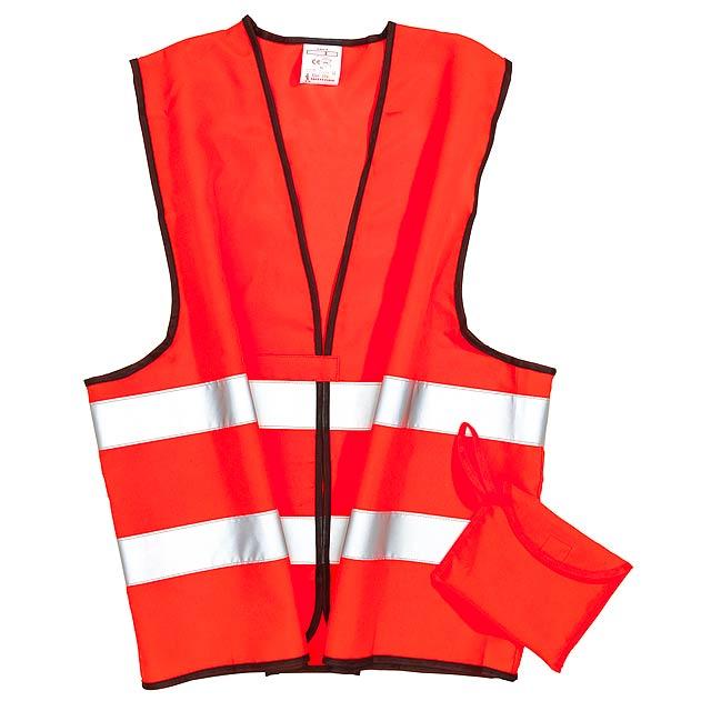 Bezpečnostní / nouzová vesta HERO - oranžová