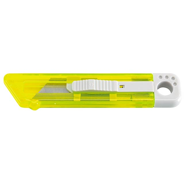 Cutter knife SLIDE IT - yellow