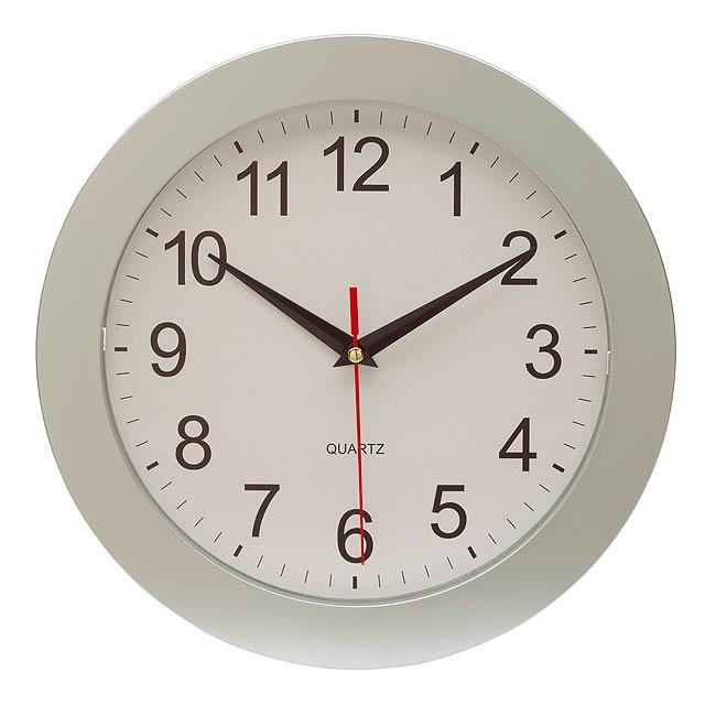 Nástěnné hodiny EASY TIME - strieborná