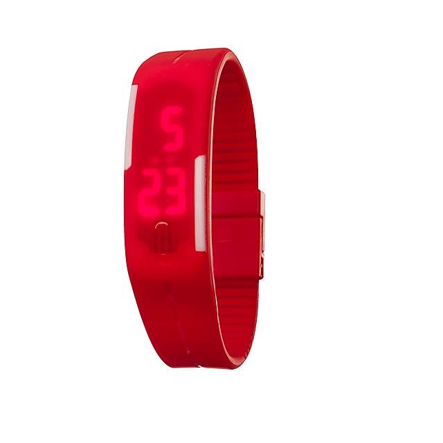 Hodinky IN TIME - červená