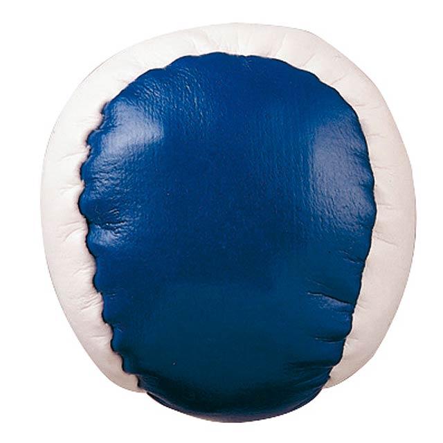 Antistresová koule JUGGLE - modrá