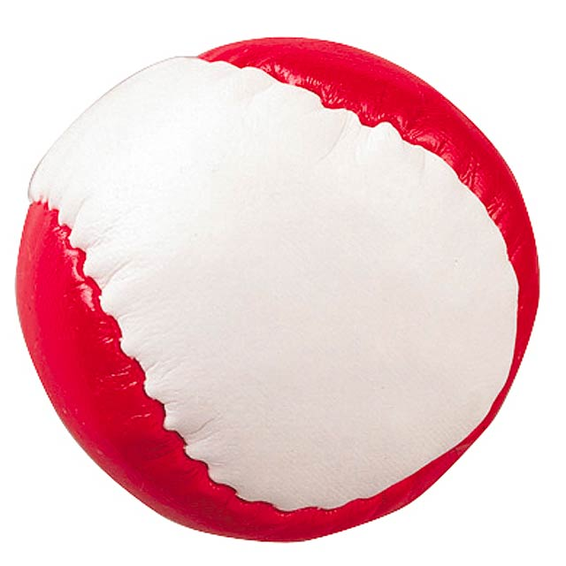 Antistresová koule JUGGLE - červená