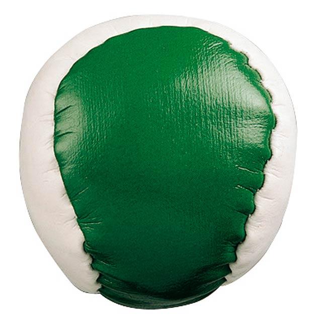 Antistresová koule JUGGLE - zelená