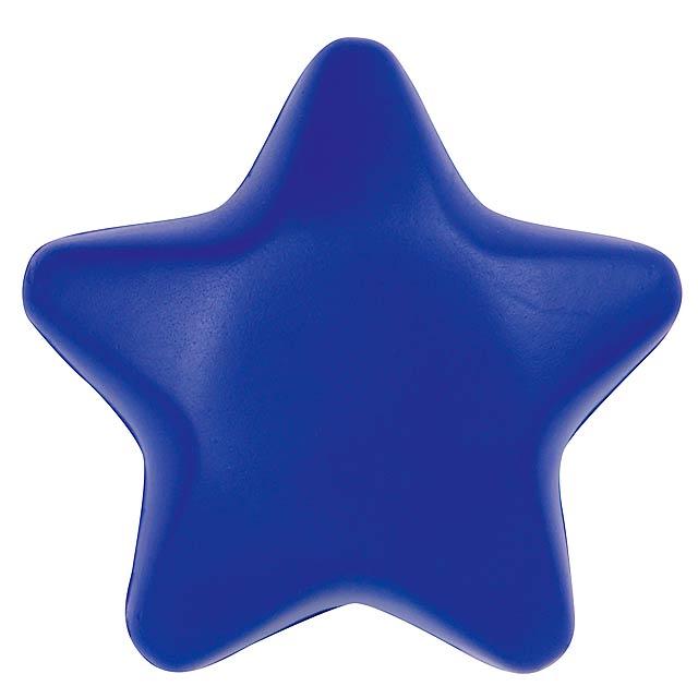 Antistresová hviezda STARLET - modrá