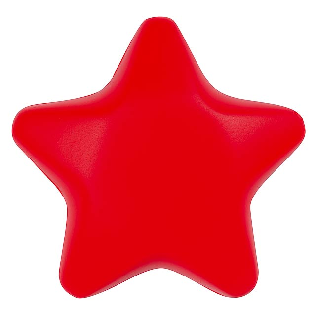 Antistresová hvězda STARLET - červená