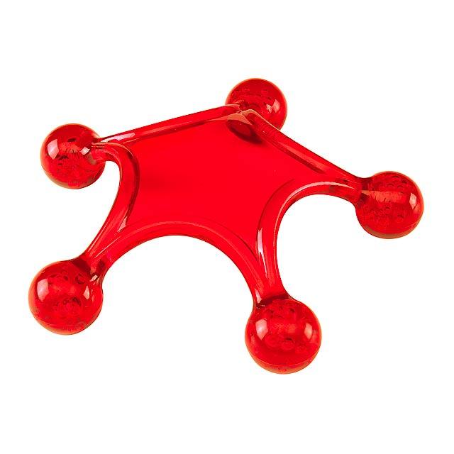 Masážní pomůcka STARFISH - červená