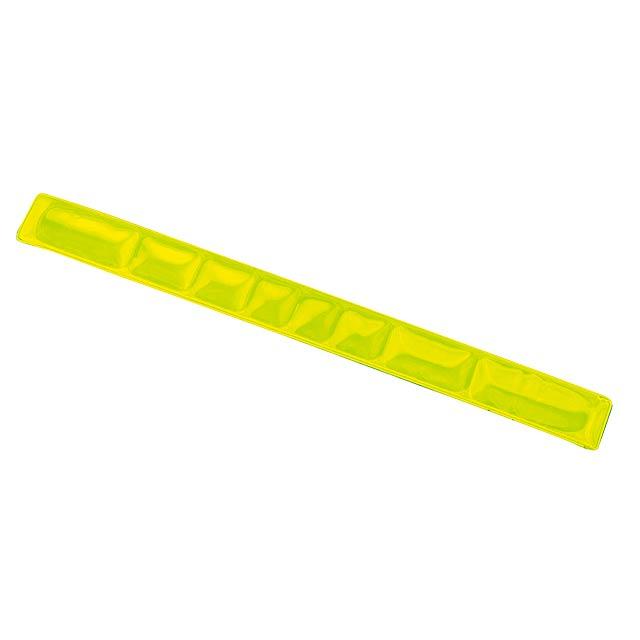 Reflexní pásek  SEE YOU - žlutá