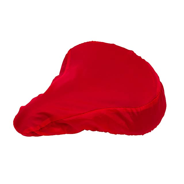 Bicycle seat cover DRY SEAT - red