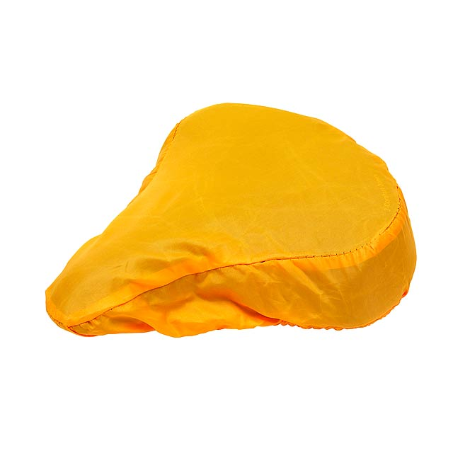Bicycle seat cover DRY SEAT - yellow