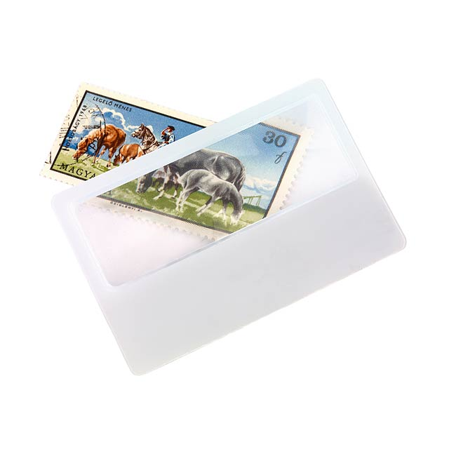 Zvětšovací sklo PODPORA - biela