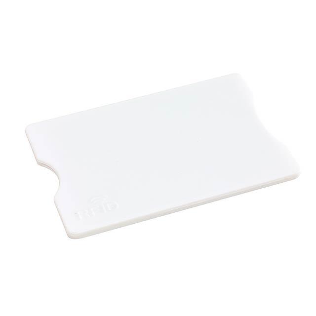 Pouzdro na kreditní karty PROTECTOR - bílá