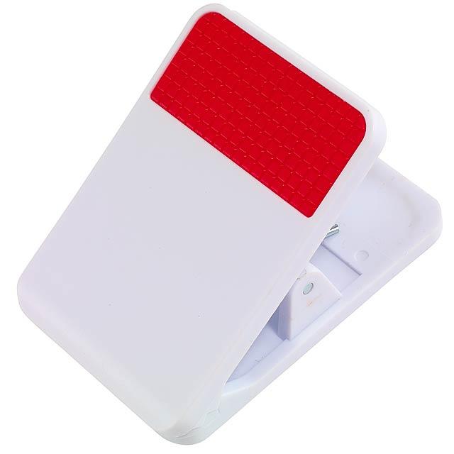 Magnetický klip TO DO pro poznámky - červená