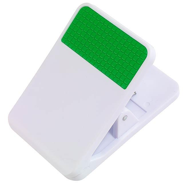 Magnetický klip TO DO pro poznámky - zelená