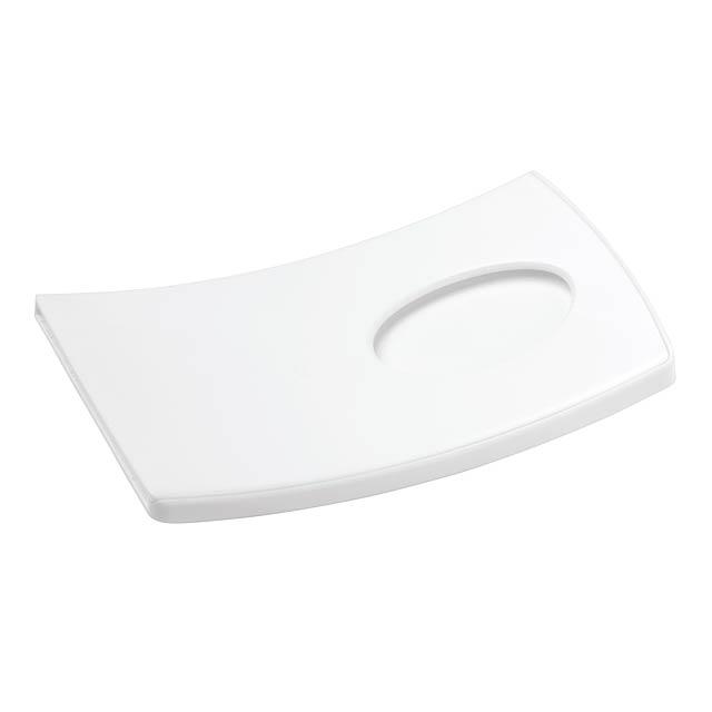 Pouzdro na kreditní karty ARCHED - bílá
