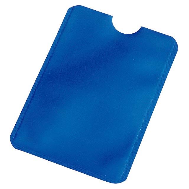 RFID obal na karty EASY PROTECT - modrá