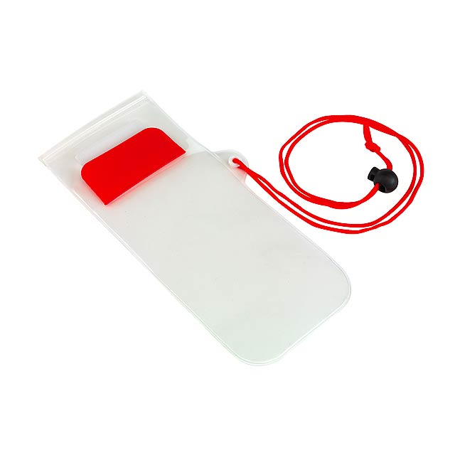 Telefonní pouzdro SMART SPLASH - červená