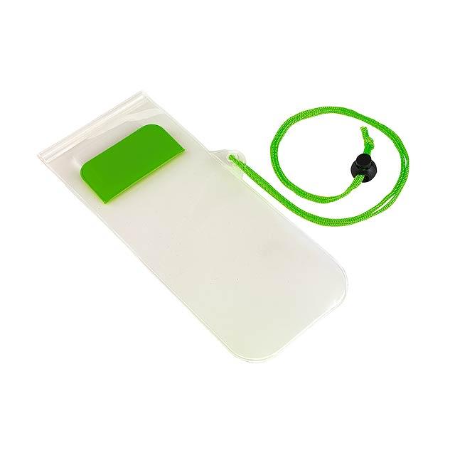 Telefonní pouzdro SMART SPLASH - citrónová - limetková