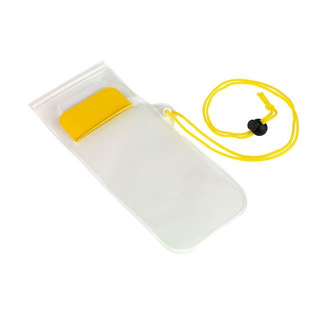 Telefonní pouzdro SMART SPLASH - žlutá