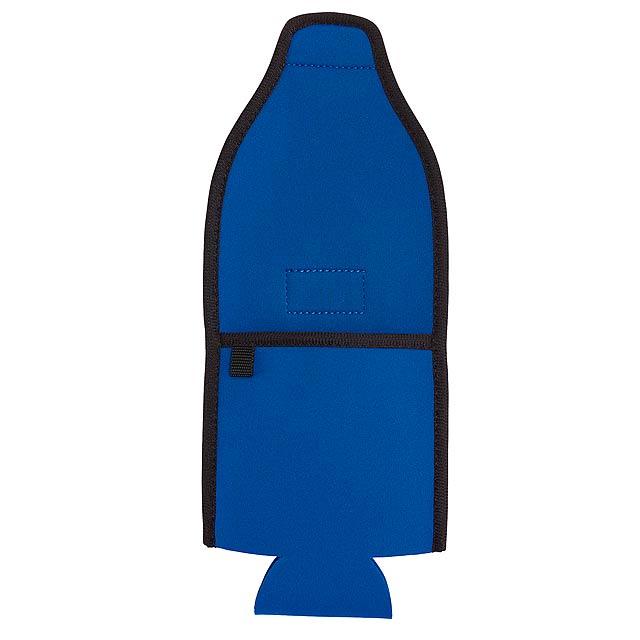 Držák na lahve plechovky COOL HIKING - modrá