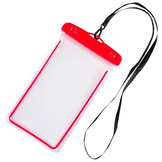Taštička na mobil DIVER - červená