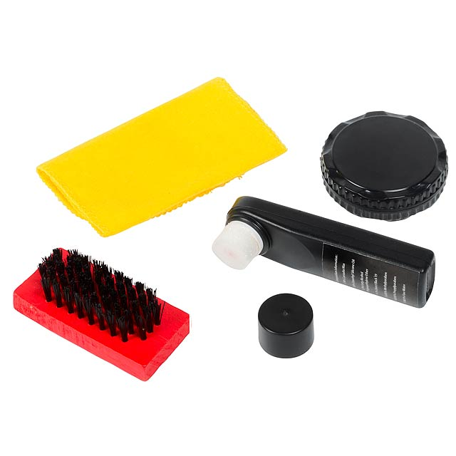 Shoe cleaning kit SMALL SHINE - yellow