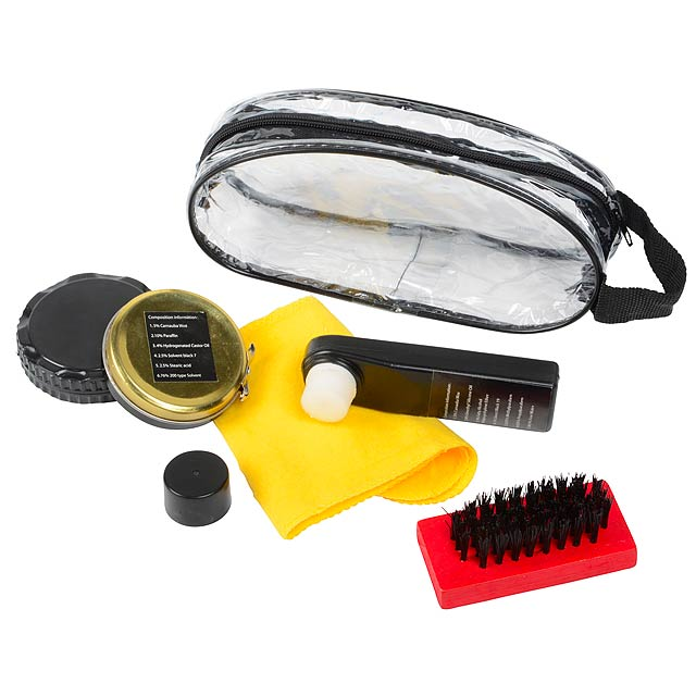Shoe cleaning kit BIG SHINE - yellow