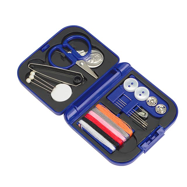 Sewing kit NICE - blue